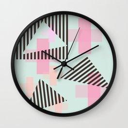 Gem & Mineral Show Wall Clock