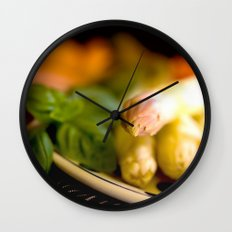 Asparagus season starts Wall Clock