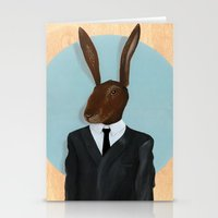 lawyer Stationery Cards featuring David Lynch | Rabbit by FAMOUS WHEN DEAD