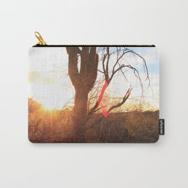 Cactus in the Sunset Carry-All Pouch