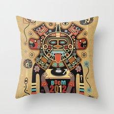 Mayas Spirit - Boom 2012 Throw Pillow