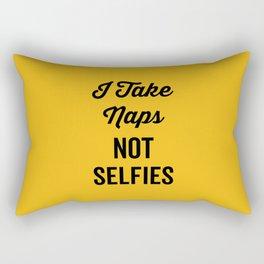 I Take Naps Funny Quote Rectangular Pillow
