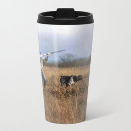 Out for a shot Travel Mug