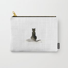 I Love Cats No. 2 by Kathy Morton Stanion Carry-All Pouch