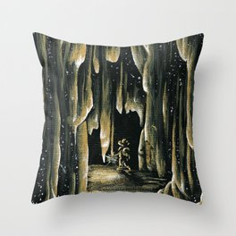 The Walk of Time Throw Pillow