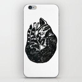 Sleeping Cat - Lino iPhone Skin
