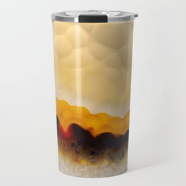 Agate abstract mineral texture Travel Mug