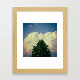 Top Framed Art Print