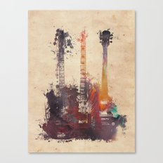 guitars 3 Canvas Print