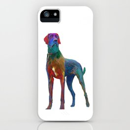 Great Dane Uncropped iPhone Case