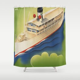 Waterway Shower Curtain