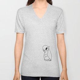 Emo Owl Unisex V-Neck