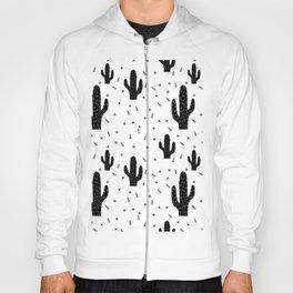 Cactuses abstract modern print simple Hoody