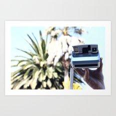 Palmcam Art Print