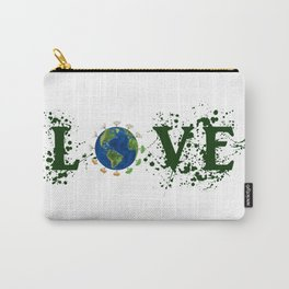 Earth Day Love Mother Earth Carry-All Pouch