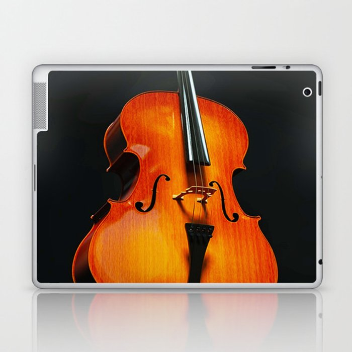 Music in body Laptop & iPad Skin
