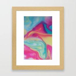 Milky Way Constant Motion Framed Art Print