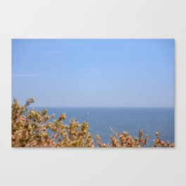 Sailing in the Cote d'Azur Canvas Print