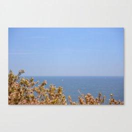Sailing in the Cote d'Azur Canvas Print