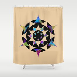 Hippie T-Shirt Store Shower Curtain