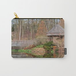 Brookside Bridge & Gazebo Carry-All Pouch