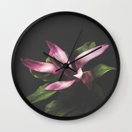 Magnolia Portrait Wall Clock