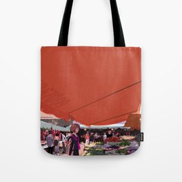 At a market in Taipei Tote Bag