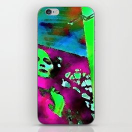 The Lady in the Window iPhone Skin