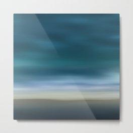 Dreamscape #7 blue-green Metal Print