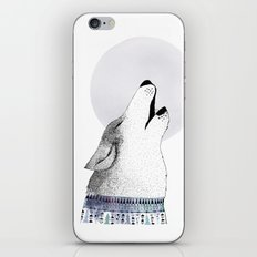 Mr. Wolf iPhone & iPod Skin