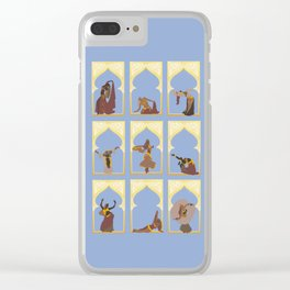 Bellydance Clear iPhone Case