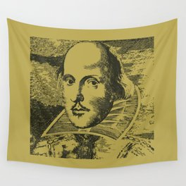 William Shakespeare Wall Tapestry
