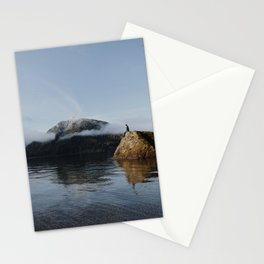 mount views Stationery Cards