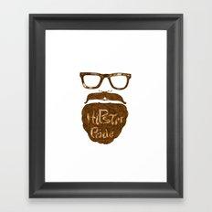 Hipster Pride Framed Art Print