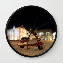 Little Cars, Big Planet (Let's Ride) Wall Clock