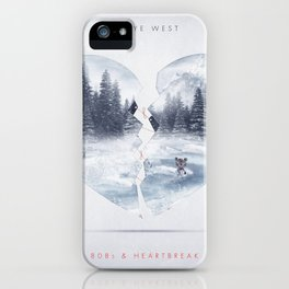 808s & Heartbreak ft. Dropout Bear iPhone Case