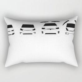 S3XY Tesla - Model S, Model 3, Model X, Model Y - Elon Musk Rectangular Pillow