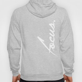 Focus - version 2 - white Hoody