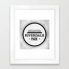 Riverdale Park Framed Art Print