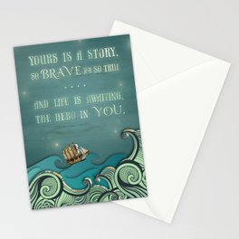 Hero in You Stationery Cards