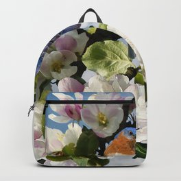 Bluebirds and Apple Blossoms Backpack