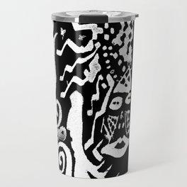 painting remix white Travel Mug