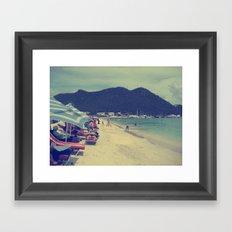 Beach Time Framed Art Print
