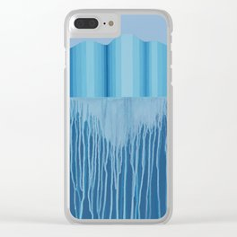Changing State Clear iPhone Case