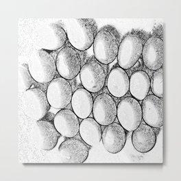 Two Dozen Eggs To Be Eggs Act Metal Print