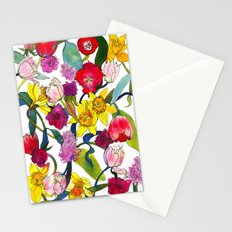 Tulips & Daffodils  Stationery Cards