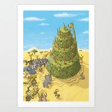 Desert Tart Art Print