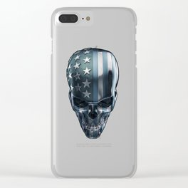 American Horror in Metal Clear iPhone Case