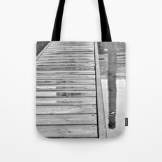 Down On The Dock Tote Bag