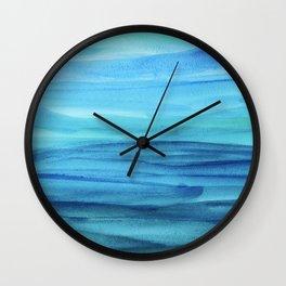 Cerulean Sea Wall Clock